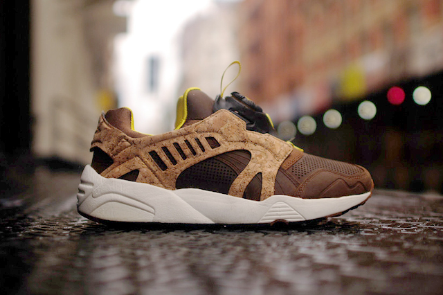 Puma also has cork shoes