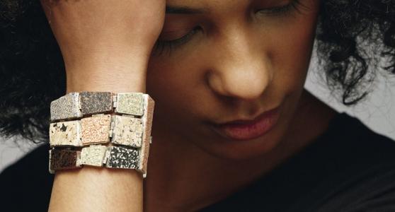 Students design cork jewellery
