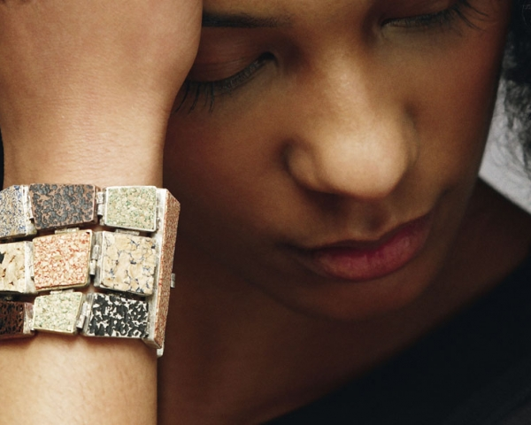 Students design cork jewellery