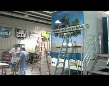 Decork Tour 2010   Building the truck