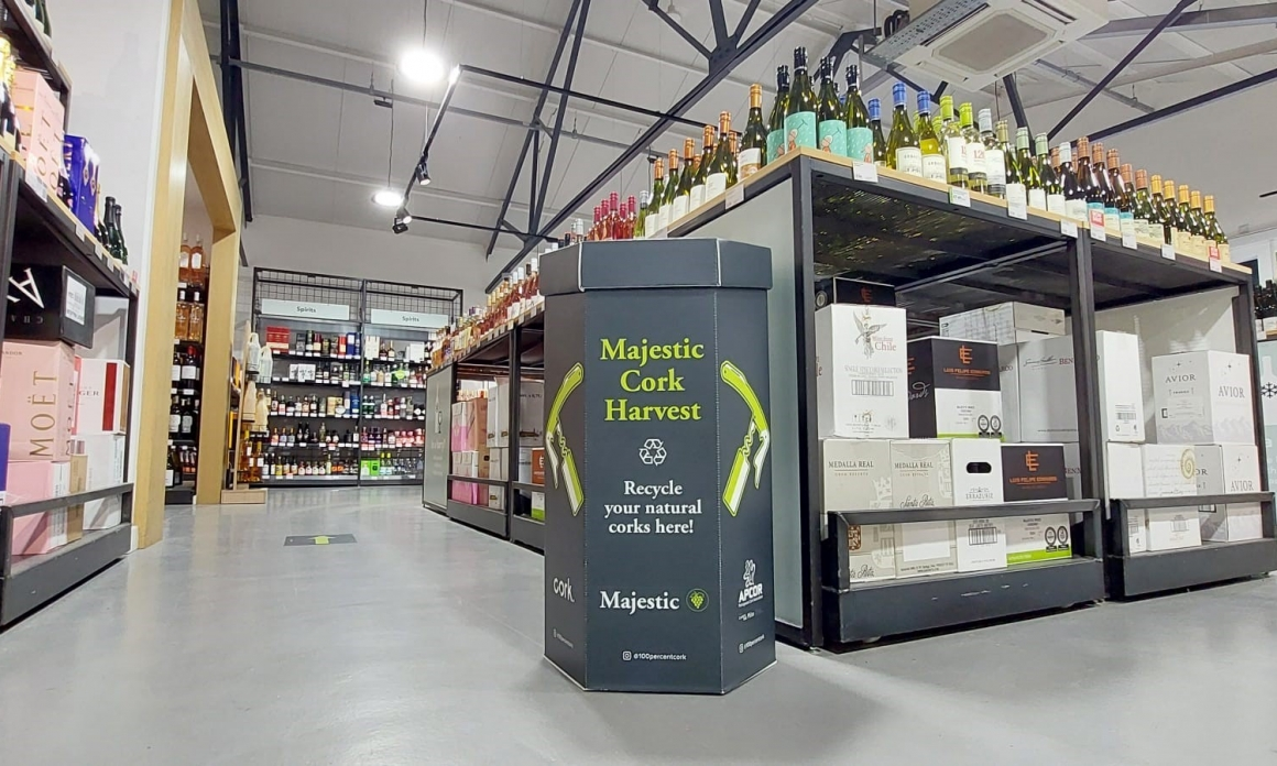 UK's First National Cork Recycling Scheme Launched At Majestic