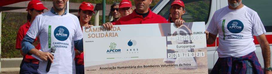 APCOR promoveu Caminhada Solidária