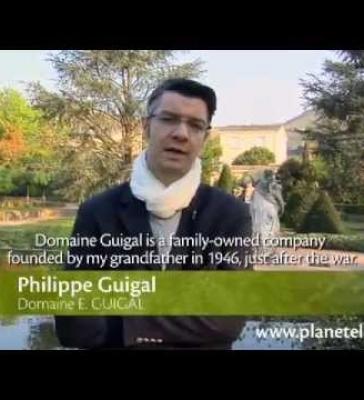 Philippe Guigal, Domaine E. Guigal (EN)