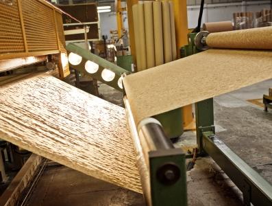 Tecido e papel de cortiça
