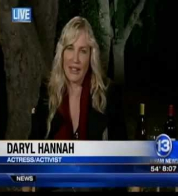 Daryl Hannah on the Benefits of Cork by: ClipSyndicate