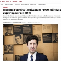 Presidente da APCOR em entrevista ao Jornal Público