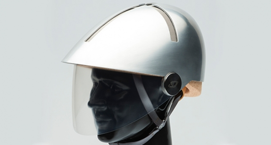 Cork cycling helmets