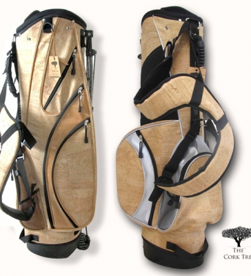 Golf accessories in cork skin