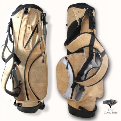 Acessórios de golfe em pele de cortiça