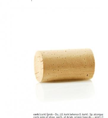 Cortiça: manual técnico para o correcto uso das rolhas de cortiça