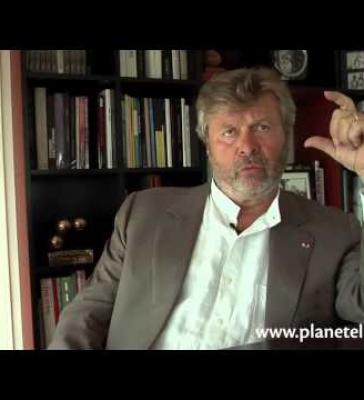 Alain-Dominique Perrin, Chateau Lagrezette, Pdt de la Fondation Cartier (FR)