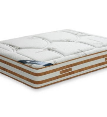 Mattress with cork sheet