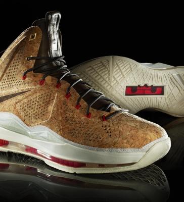 Nike de cortiça
