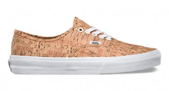 Vans covers Authentic with cork